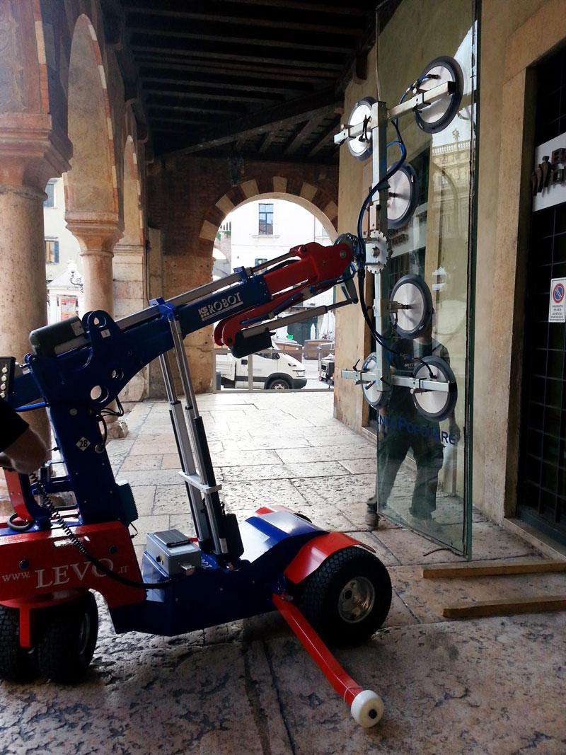 Allestimento Banco Popolare a Verona