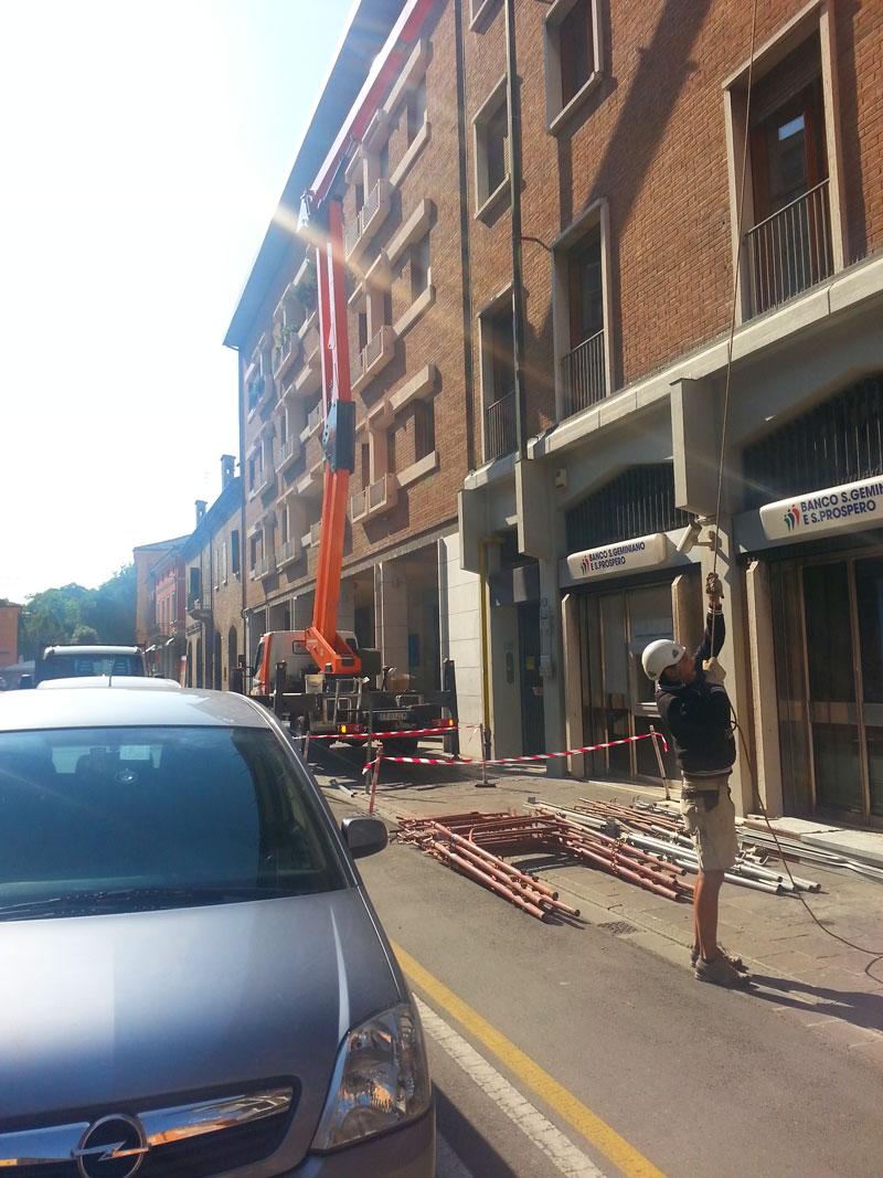 Ristrutturazione Banco San Geminiano e San Prospero
